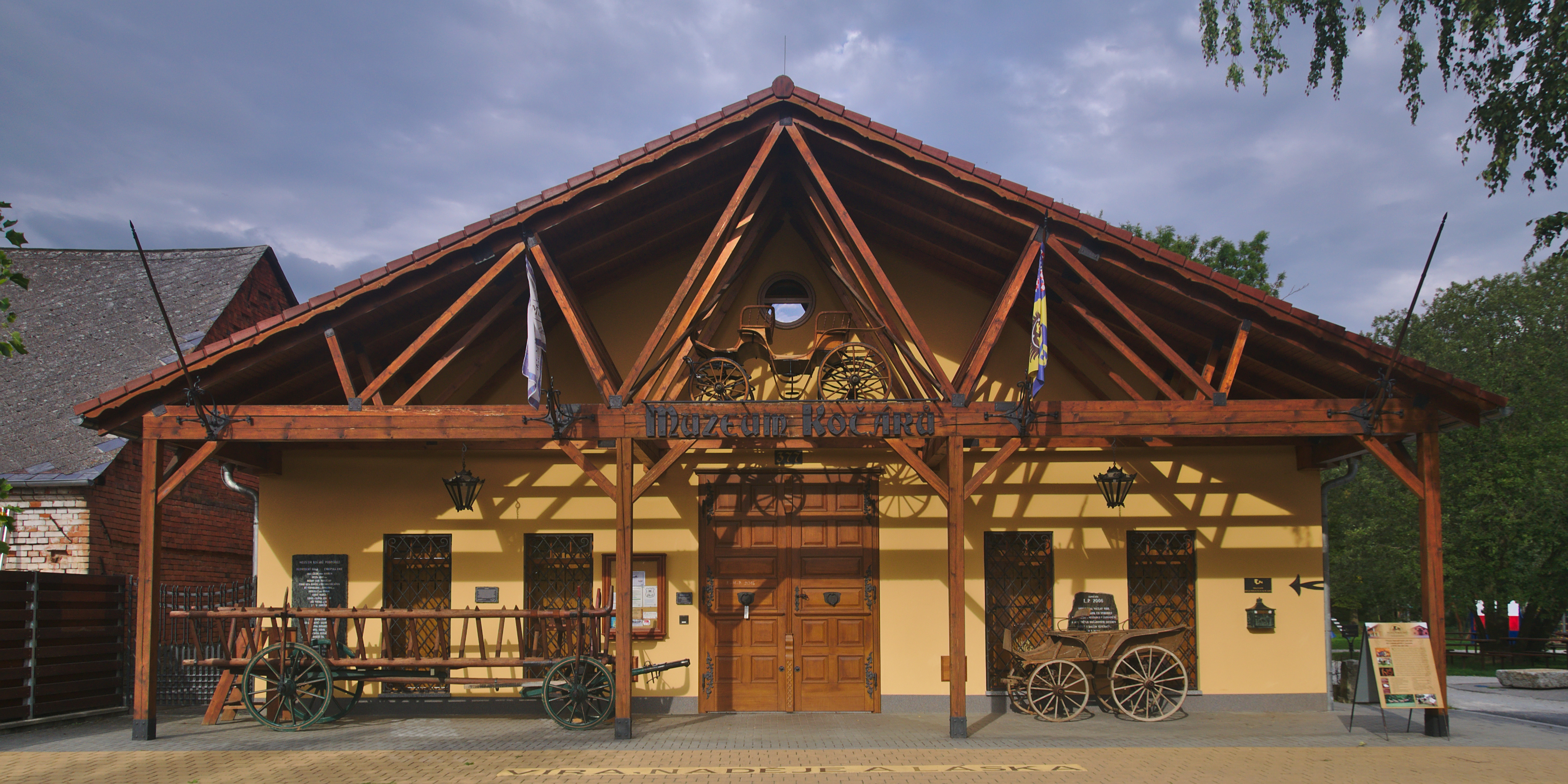 Muzeum kočárů, Čechy pod Kosířem (CZ)
